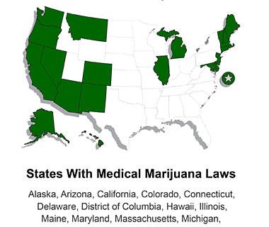 States with Medical Marijuana Laws